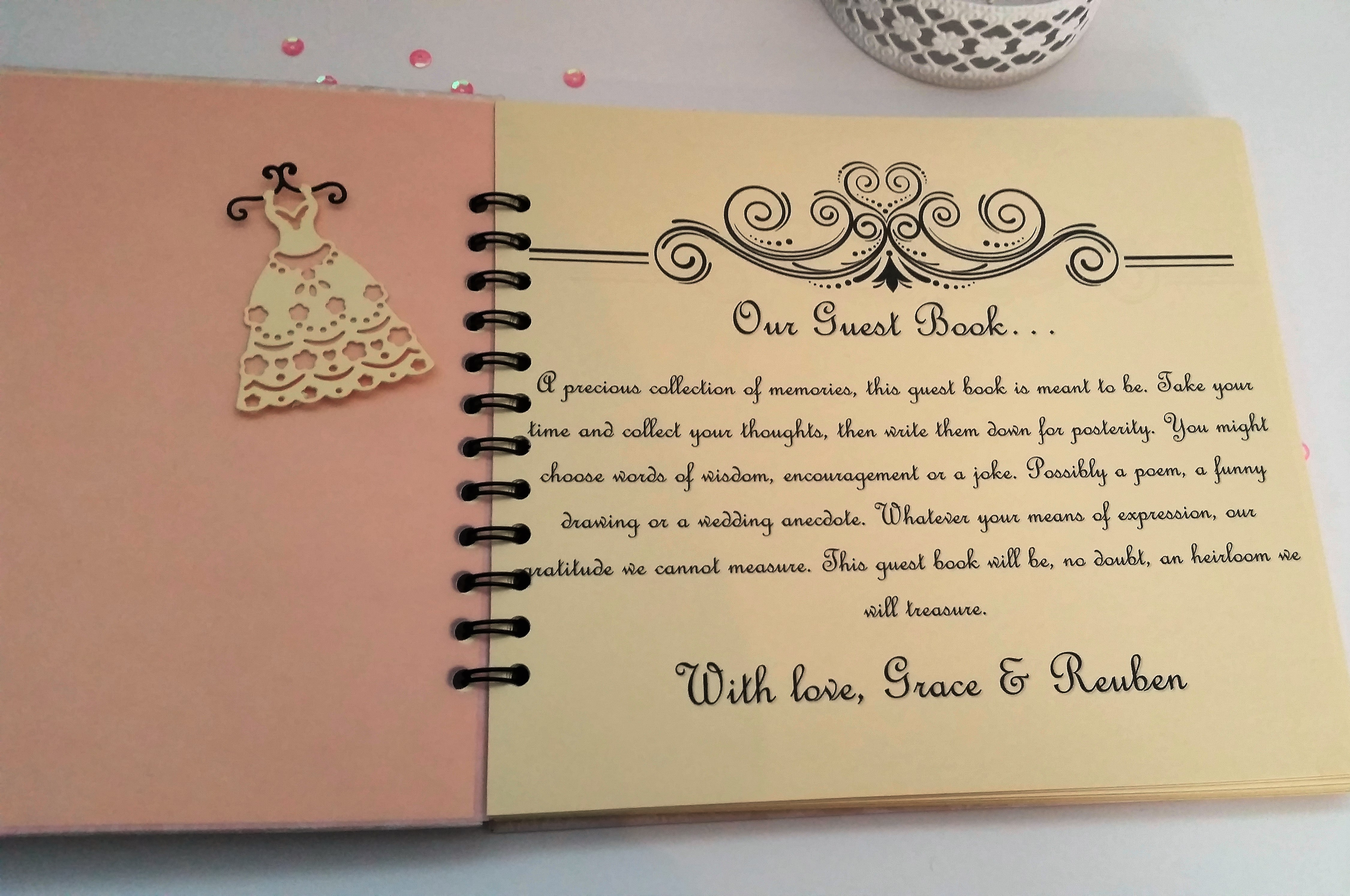 Another Project Share Wedding Guest Book